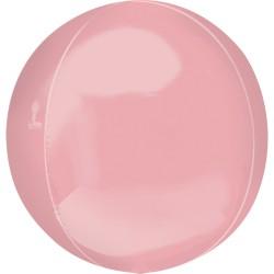 Orbz Pastel Pink Foil Balloon - 38 x 40 cm, Radar 39112