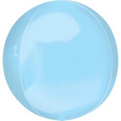 Orbz Pastel Blue Foil Balloon - 38 x 40 cm, Radar 39111
