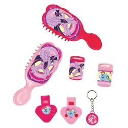 Set Jucarii Party (caleidoscop, fluier, perie, breloc) My Little Pony, Radar 9902518, 24 piese