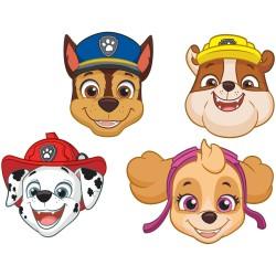 Masti copii pentru petrecere Paw Patrol, Radar 9903839, set 8 buc