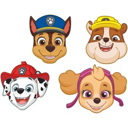 Paw Patrol Face Mask - Party Supplies, Radar 9903839, Pack of 8 Pieces