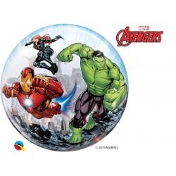 "22"" Marvel's Avengers Classic Bubble Foil Balloon, Qualatex 87459"