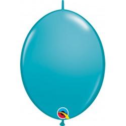 Balon Cony Tropical Teal, 12 inch (30 cm), Qualatex 65228