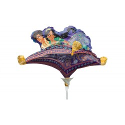 "Aladdin Mini Shape Foil Balloon - 14""/36 cm, Radar 40226"