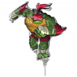 Balon mini figurina Testoasele Ninja - Raphael, 36 cm, Radar 38910