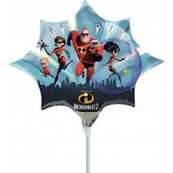 "Incredibles Mini Shape Foil Balloon - 14""/36 cm, Radar 37133"