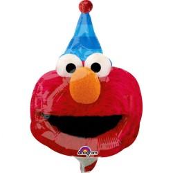 Balon mini figurina Sesame Street, doua fete, 20 x 27 cm, Radar 34400
