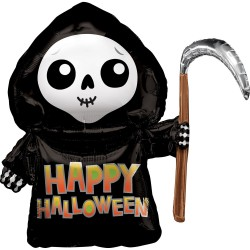 Happy Grim Reaper SuperShape Foil Balloon, 69 cm, Radar 39984