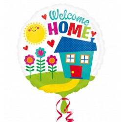 Balon folie inscriptionat Welcome Home - 45 cm, Radar 33686