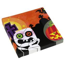 Servetele pentru petrecerea de Halloween, 33 x 33 cm, Radar 998387, Set 20 buc