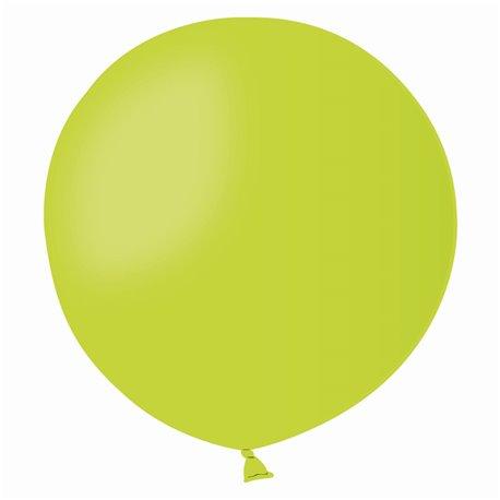 Balon Latex Jumbo 48 cm, Verde Deschis 11, Gemar G150.11, set 50 buc