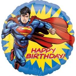 "18"" Happy Birthday Superman, Radar 35531, 1 piece"