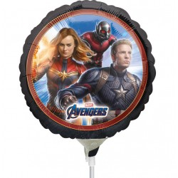 "The Avengers Mini Foil Balloon, 9""/23 cm, 34660"