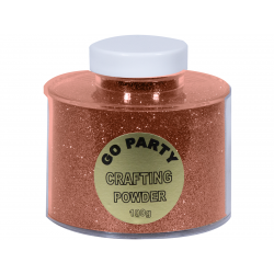 Crafting Powder Rose Gold For Balloons, 100 gr., Qualatex 91156