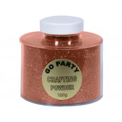 Pudra cu sclipici Rose Gold Pentru Baloane - 100 gr, Qualatex 91156