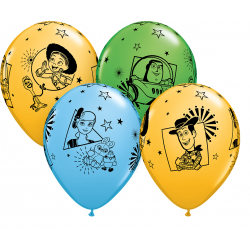 "Baloane latex 11""/28 cm Toy Story 4, Qualatex 92783"