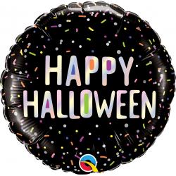 Balon Folie 45 cm Halloween Sprinkles, Qualatex 89762