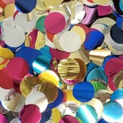 Confeti buline asortate din folie pentru party si evenimente, Radar SPC.F.BULINE