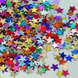 Confeti stelute asortate din folie pentru party si evenimente, Radar SPC.F.STELUTE.ASS