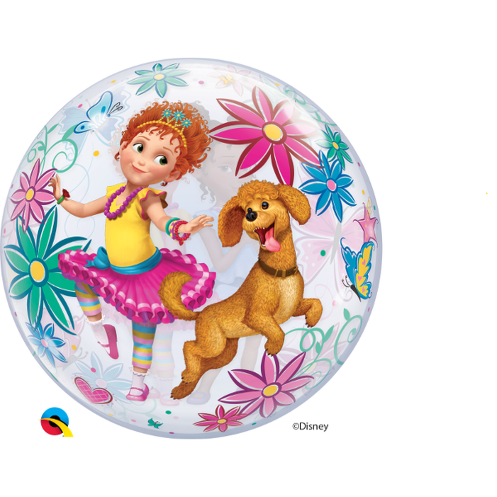 Disney Fancy Nancy Clancy Bubble Balloon 22 56cm Qualatex 91285