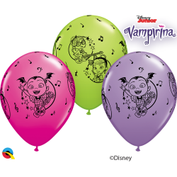 "Baloane latex 11""/28 cm Vampirina, Qualatex 89516"