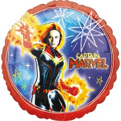 Balon folie 45 cm Captain Marvel, Amscan 39510