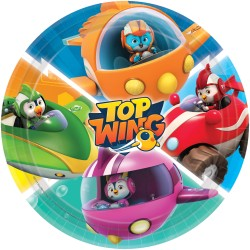 Paw Patrol Party Plates - 23 cm, 9903818, pack of 8 pieces