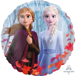 Balon Folie 45 cm Frozen 2 - Anna, Elsa & Olaf, Amscan 40386