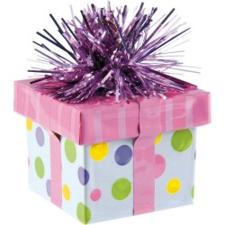 Balloon Weight Gift Package Pink 170 g, Amscan 114533