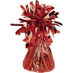 Balloon Weight Foil Red 170 g, Amscan 991365-07
