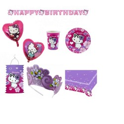 Pachet party Charmmy Kitty Hearts, Radar Hearts, set 22 piese