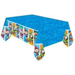 Fata de masa din plastic pentru petrecere copii - Top Wing, 180 x 120 cm, Amscan 9904874, 1 buc