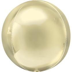 Balon folie orbz Pastel Yellow - 38 x 40 cm, Amscan 40304