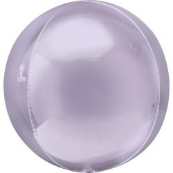 Balon folie orbz Pastel Lilac - 38 x 40 cm, Amscan 40305
