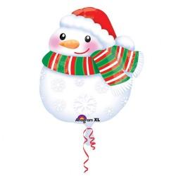 Standard Junior Shape Bundled Up Snowman, Amscan 31432