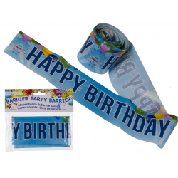 Party Banner - 10 m, Happy Birthday, Radar 62/0818