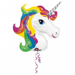 "Super Shape My Little Pony Rainbow Balloon - 28""x27"", Amscan 26467"