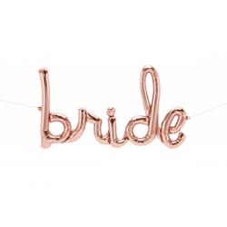 Bride Script 33''/84 cm- Rose Gold, Qualatex Q59792