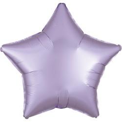 Foil Balloon Star Satin Luxe Lilac, 45 cm, Amscan 39906