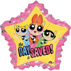 "SuperShape ""Powerpuff Girls"" Foil Balloon, 81 x 86cm, Amscan 34500"