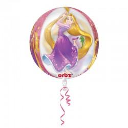 Balon Folie Orbz Rapunzel - 38x40 cm, Amscan 33222