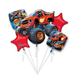 """Bouquet """"Blaze and the Monster Machines"""", Amscan 32395, pack of 5 pieces"""