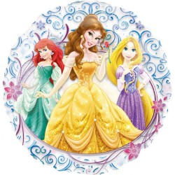 Balon Folie 66 cm - Disney Princess, Amscan 26223