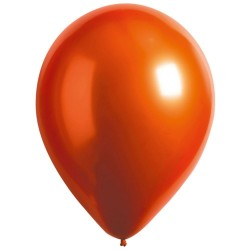 "50 Latex Balloons Decorator Satin Luxe Amber 27.5 cm / 11"", Radar 9906961"