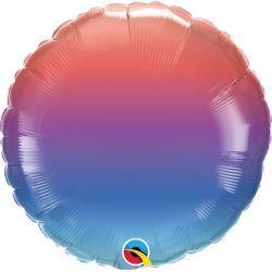 Balon Folie 45 cm Jewel Ombre, Qualatex 97408