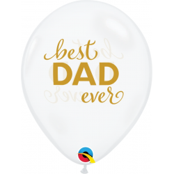 Simply Best Dad Ever Latex Balloons, Qualatex 11238
