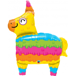 Foil Balloon Rainbow Piñata, Qualatex 10511