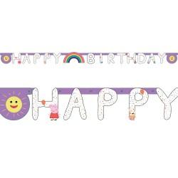 Letter Banner HB Peppa Pig, 2.1m x 1.8m, Amscan 9906336