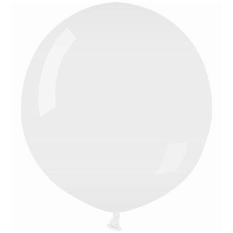 Balon Latex Jumbo 100 cm, Alb 01, Gemar G300.01, 1 buc