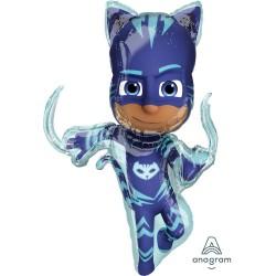 SuperShape PJ Masks Catboy - 53cm x 93cm, Amscan 38201